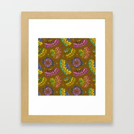 Bohemian Paradise on Mustard Framed Art Print
