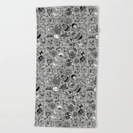 heaps of heads Beach Towel