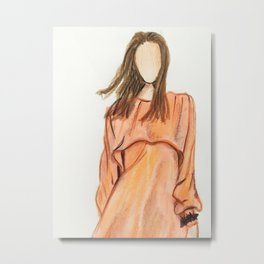 Easygoing (Zoomed) Metal Print