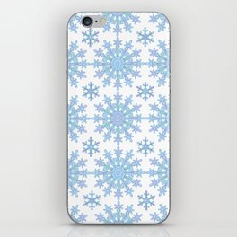 Snowflake Medallion Pattern 1 iPhone Skin