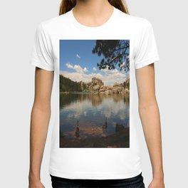 What A Beautiful Day At Sylvian Lake T-shirt