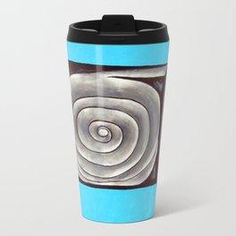 Metal rose illusion Travel Mug