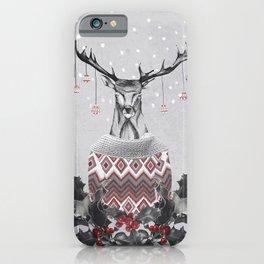 CHRISTMAS DEER (by Nika & Mariam) iPhone Case