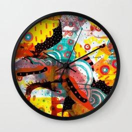 CLASH Wall Clock