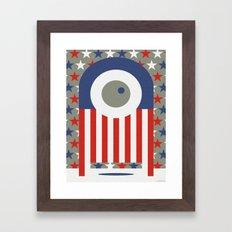 BALLOT Framed Art Print