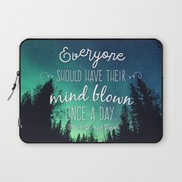 Inspirational Poster - Neil deGrasse Tyson Quote Laptop Sleeve