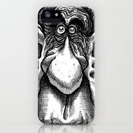 Larry, Lobes & Lizzy iPhone Case