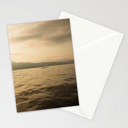 Sunrise Whale Stationery Cards