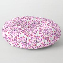 Mandala In Pink Floor Pillow