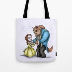 Plushie & The Beast Tote Bag