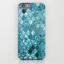 Mermaid Glitter Scales #4 #shiny #decor #art #society6 iPhone Case