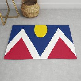 flag of denver Rug