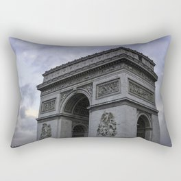 The Arc de Triomphe de l'Etoile Rectangular Pillow