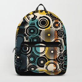 Circles Galore in Teal Backpack