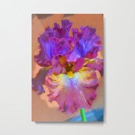 Iris 68 Metal Print