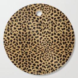 Cheetah Print Cutting Board