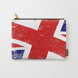Union Jack Close Up Carry-All Pouch