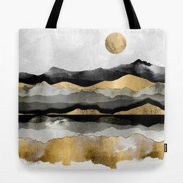 Golden Spring Moon Tote Bag