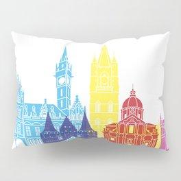 Ghent skyline pop Pillow Sham