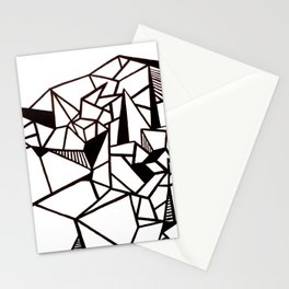 Geo Mountian Stationery Cards