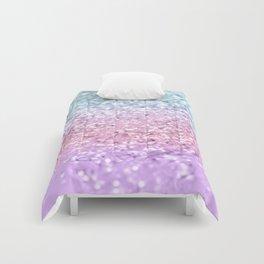 Unicorn Girls Glitter #4 #shiny #pastel #decor #art #society6 Comforters