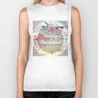 destiny Biker Tanks featuring Destiny by Daniela Vasco