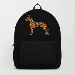 Great Dane Art Backpack