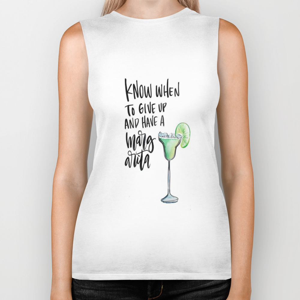 Margarita Time Biker Tank by Thestylinghouse BKT8100366