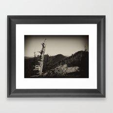 The Black Mountains Framed Art Print