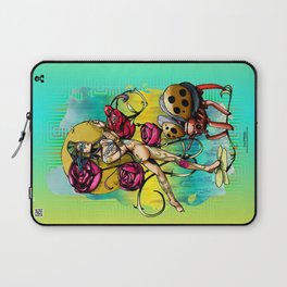 Madame Ladybotté Butterfly of Lovers' Vale Laptop Sleeve