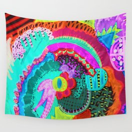 PLAY GROUND Wall Tapestry
