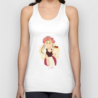 germany Tank Tops featuring Germany by Melissa Ballesteros Parada