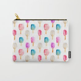 Popsicles    watercolor Carry-All Pouch
