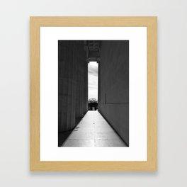Lincoln Memorial IV Framed Art Print