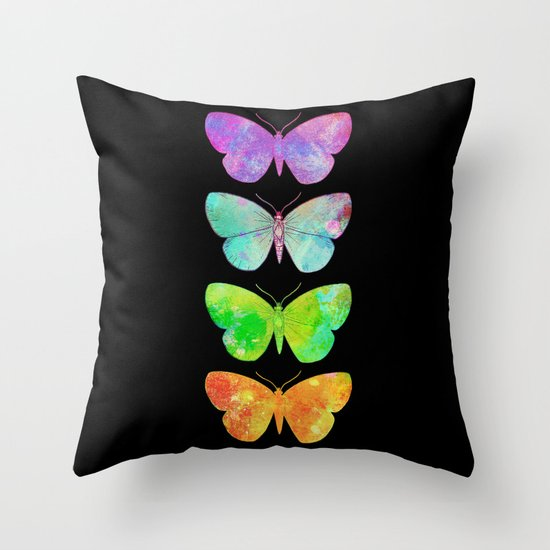 Butterfly Effect Throw Pillow