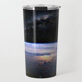 Earth is Round Travel Mug