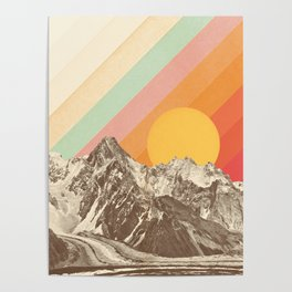Mountainscape 1 Poster
