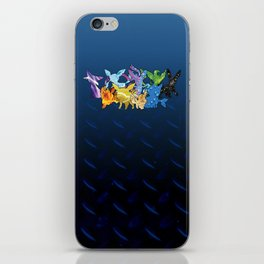 """The Dream Team"" - X & Y Eeveelutions iPhone Skin"