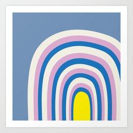 Curv Art Print