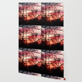 October Sunset Wallpaper