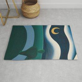 Tarsila do Amaral - A Lua - Art Poster Rug