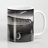 ford Mugs featuring old ford by Joedunnz