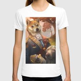 Royal Shiba Dog Portrait T-shirt
