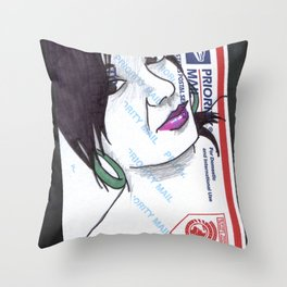 Stuck. Throw Pillow