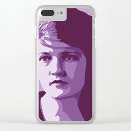 Zelda Fitzgerald Clear iPhone Case