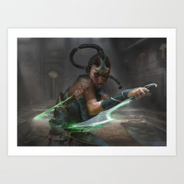 MTG Murderous Cut - Exclusive Print Art Print