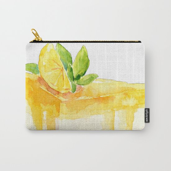 Lemon Cake Carry-All Pouch