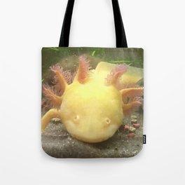 Sunshine the Axolotl Tote Bag