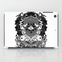 all seeing eye iPad Cases featuring All seeing eye by Tshirt-Factory