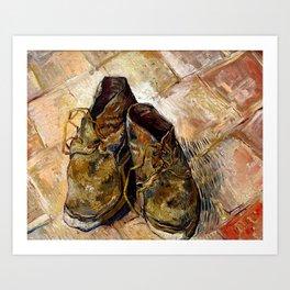 Shoes Van Gogh 1888 Art Print